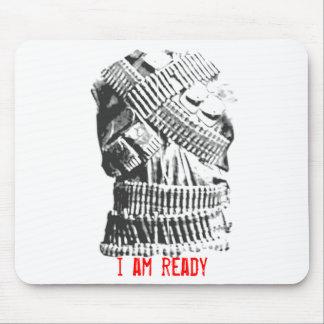 I Am Ready - Anti Social Mouse Pad