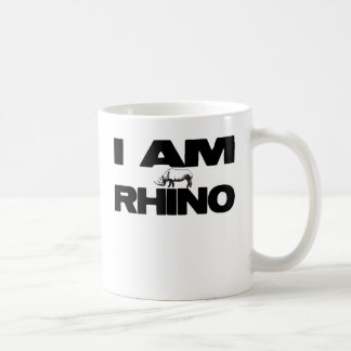 I AM RHINO COFFEE MUG