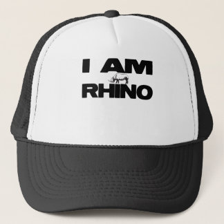 I AM RHINO TRUCKER HAT