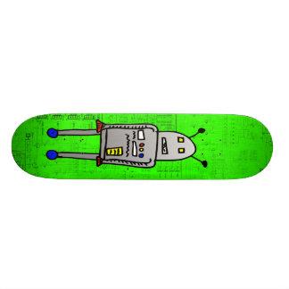 I am RoboBoard 18.1 Cm Old School Skateboard Deck