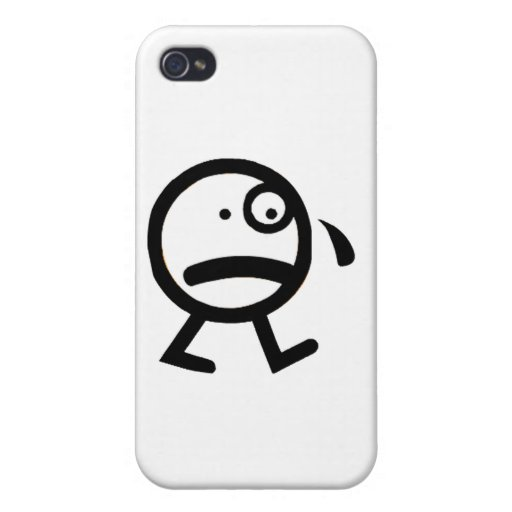 I am sad iPhone 4/4S cover