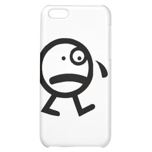 I am sad iPhone 5C case
