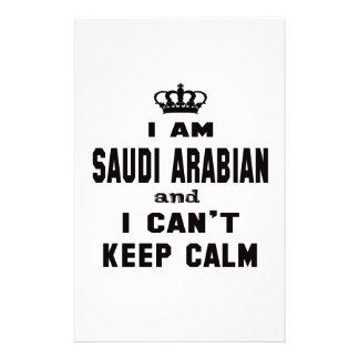 I am Saudi Arabian and i can't keep calm Customised Stationery