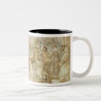 I am searching for my Donkey, Wartburg Castle Two-Tone Coffee Mug
