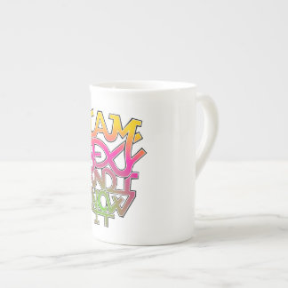 I am sexy and I know it - graffiti Tea Cup