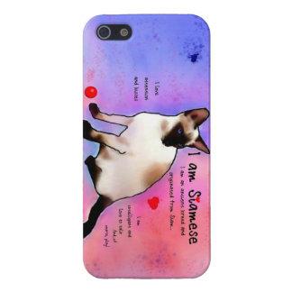 I am Siamese iPhone 5 Case