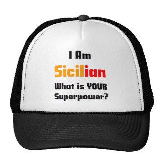 I am Sicilian Cap