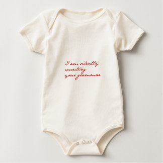 I am silently correcting your grammar-jane-red baby bodysuit