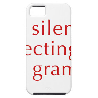 I am silently correcting your grammar-opt-red iPhone 5 cases