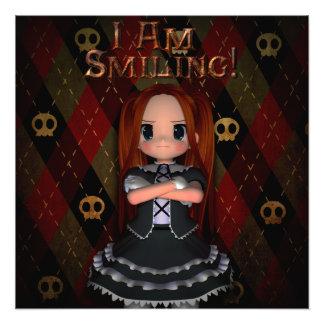 I Am Smiling Art Photo