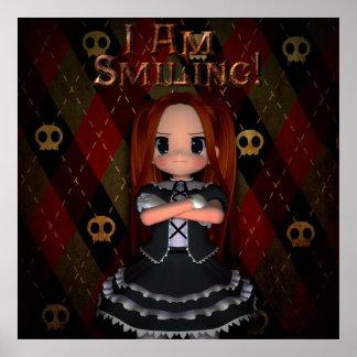 I Am Smiling Print