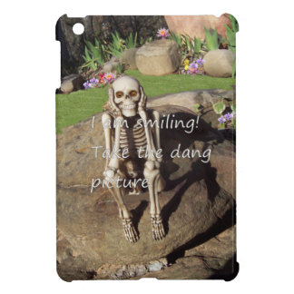 I Am Smiling. Take The Dang Picture 12.jpg iPad Mini Cover
