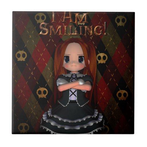 I Am Smiling Tile