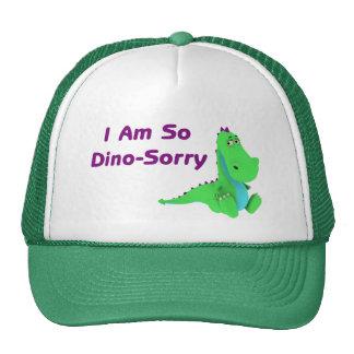 I Am So Dino Sorry Dinosaur Cap