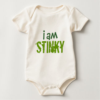 I am Stinky Baby Bodysuit