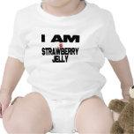 I Am Strawberry Jelly Bodysuit