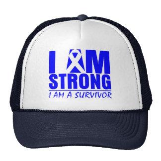 I am Strong - I am a Survivor - Anal Cancer Cap