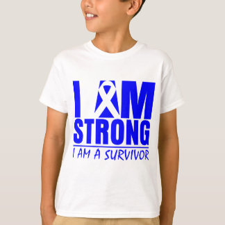I am Strong - I am a Survivor - Histiocytosis T-Shirt