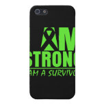 I am Strong - I am a Survivor - Lyme Disease iPhone 5 Case
