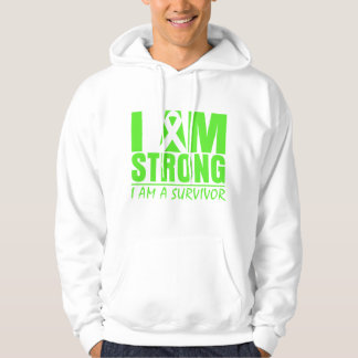 I am Strong - I am a Survivor - Lyme Disease Sweatshirt