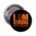 I am Strong - I am a Survivor - Multiple Sclerosis Pin