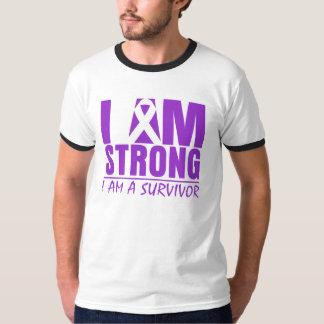I am Strong - I am a Survivor - Pancreatic Cancer T Shirts