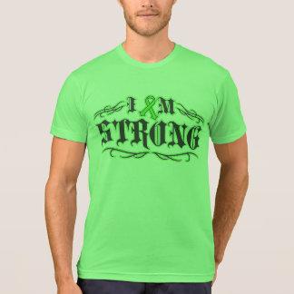 I am Strong Lymphoma Warrior Tattoo Shirt