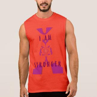 I Am Stronger Breast Cancer Awareness   tee shirt