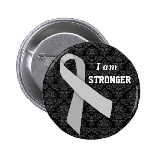 I am Stronger than MS 6 Cm Round Badge