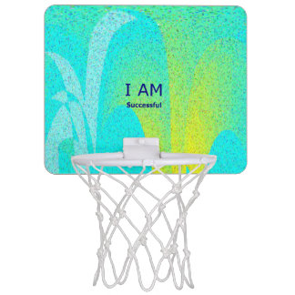 I AM Successful Mini Basketball Hoop