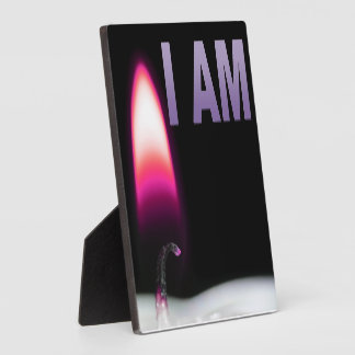 I AM Table Sign 6x6 Plaque