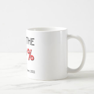 I am the 99% Occupy ALL streets 2011 Mugs