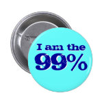 I am The 99 percent Pinback Button