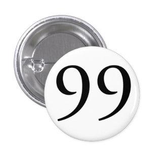 I Am The 99 (WHT) 3 Cm Round Badge