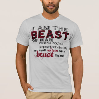 I am the BEAST of man...Athletic Tees