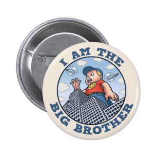 I Am the Big Brother 6 Cm Round Badge