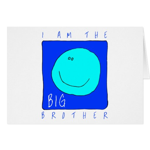 I Am The Big Brother Card