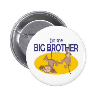 I am the big brother monkey buttons