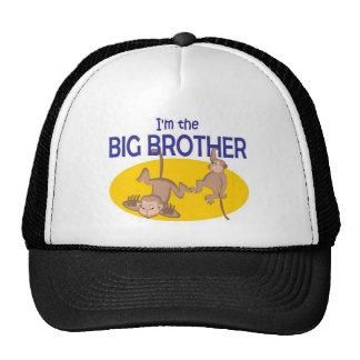 I am the big brother monkey hats