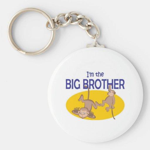 I am the big brother monkey key chains