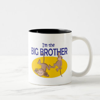 I am the big brother monkey mug