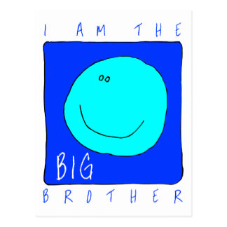 I Am The Big Brother Postcards