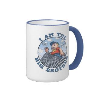 I Am the Big Brother Ringer Mug