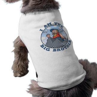I Am the Big Brother Sleeveless Dog Shirt