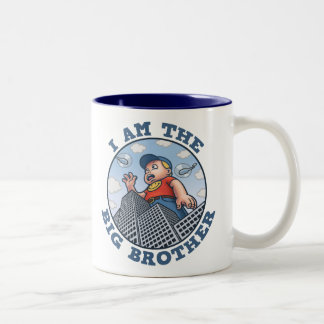 I Am the Big Brother Two-Tone Coffee Mug