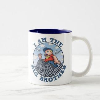 I Am the Big Brother Two-Tone Mug