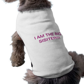 I AM THE BIG SISITER!!!! SHIRT