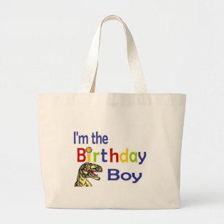 I am the birthday boy jumbo tote bag