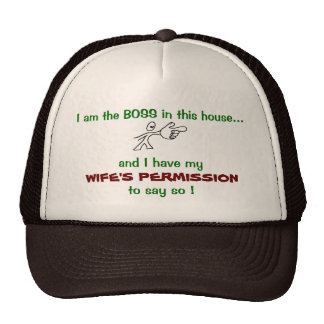 I am the Boss Hat