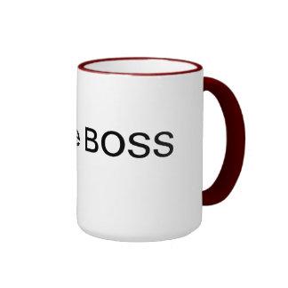 I am the Boss ! Ringer Mug